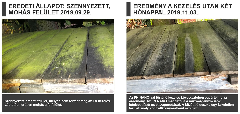 A fafelület védelme